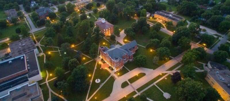 Iowa Wesleyan University Campus