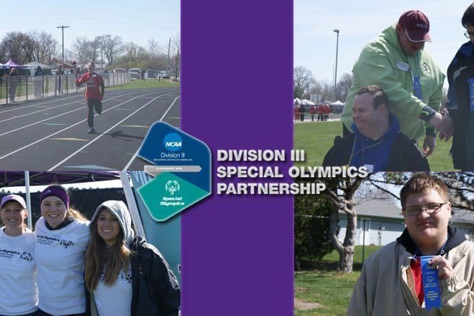 Division 3 special olympics at IW