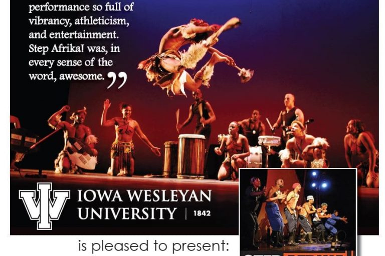 Step Afrika show at IW
