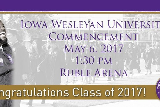 IW Commencement Spring 2017 Homepage Slider