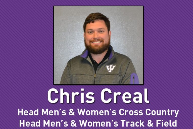 Chris Creal Head Men's and Women's Cross Country Track and Field