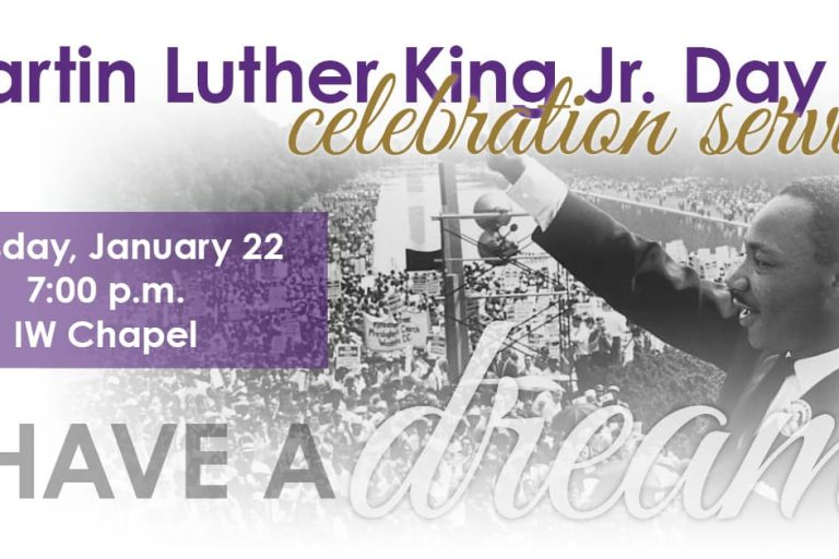 Martin Luther King Jr. Day at IW