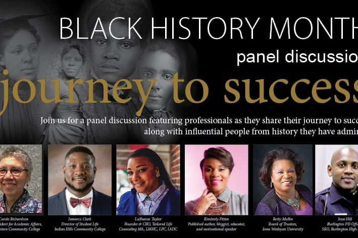 black history month panel discussion