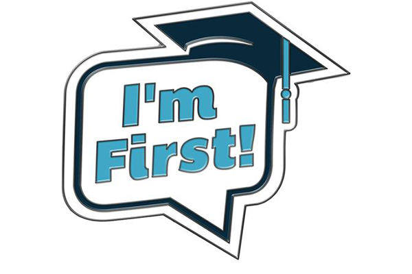 I'm first college students badge